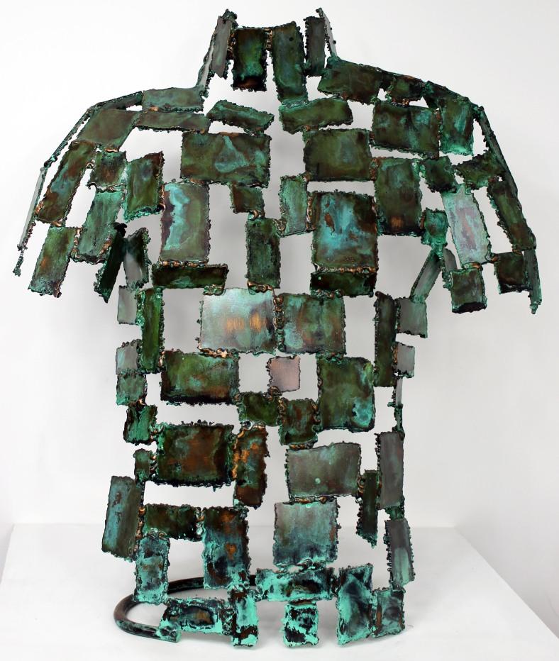 58 - Kouros Lorica - Sculpture Philippe Buil - Bronze 1.JPG