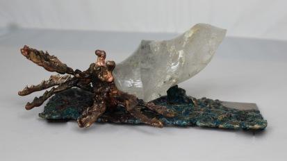 série Buffon - Trou d'eau 1 Sculpteur Philippe Buil