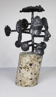 série Cabinet de curiosité - Seth 1 Sculpteur Philippe Buil
