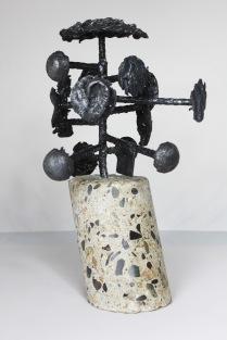 série Cabinet de curiosité - Seth 4 Sculpteur Philippe Buil