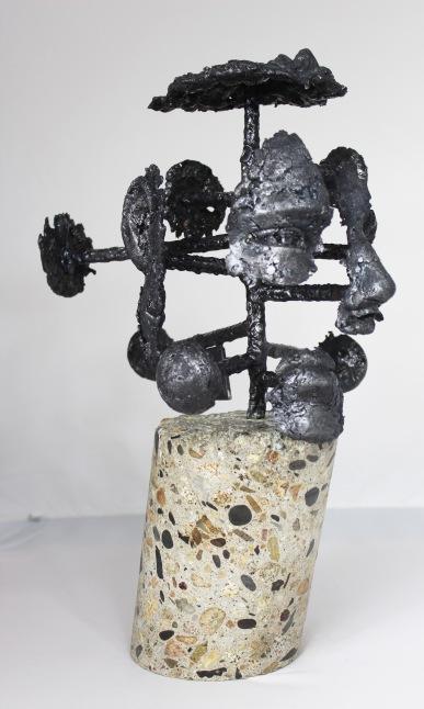 série Cabinet de curiosité - Seth 6 Sculpteur Philippe Buil