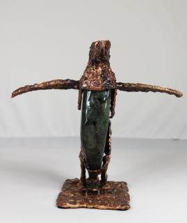série Buffon - Manchot Perma 2 Sculpteur Philippe Buil