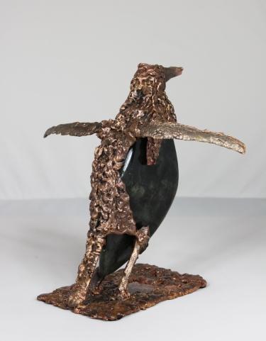série Buffon - Manchot Perma 4 Sculpteur Philippe Buil