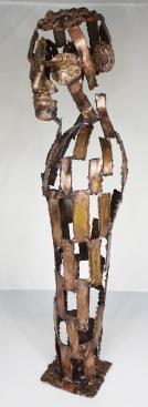 série Cabinet de curiosité - Une nuit sur ton épaule 3 Sculpteur Philippe Buil