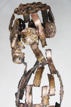 série Cabinet de curiosité - Une nuit sur ton épaule 4 Sculpteur Philippe Buil