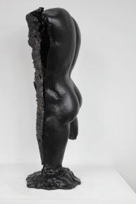 22 - Cabinet Curiosité Golem - Sculpture Philippe Buil - Acier Corde Platre - 3
