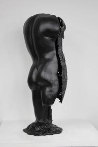 22 - Cabinet Curiosité Golem - Sculpture Philippe Buil - Acier Corde Platre - 5