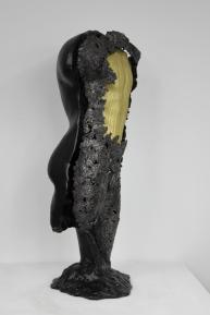 22 - Cabinet Curiosité Golem - Sculpture Philippe Buil - Acier Corde Platre - 6