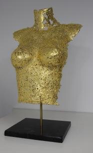 philippe buil sculpteur Belisama or 24 Carats Duchesse 2