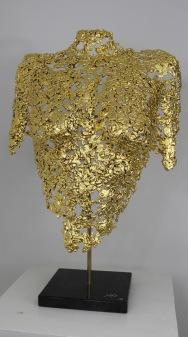 philippe buil sculpteur Belisama or 24 carats Golden Dawn 1