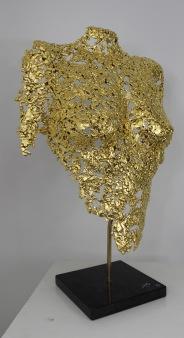 philippe buil sculpteur Belisama or 24 carats Golden Dawn 2