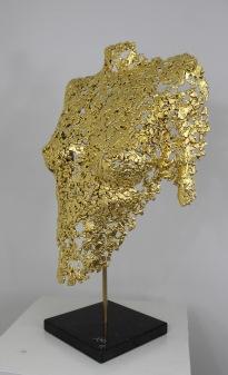 philippe buil sculpteur Belisama or 24 carats Golden Dawn 4