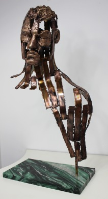 philippe buil sculpteur Kouros Le Témoin 2