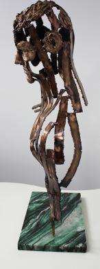 philippe buil sculpteur Kouros Le Témoin 3