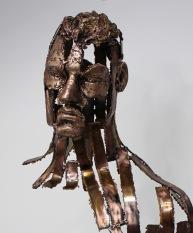 philippe buil sculpteur Kouros Le Témoin T