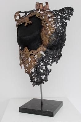 16 philippe buil bronze acier corde buste feminin 2
