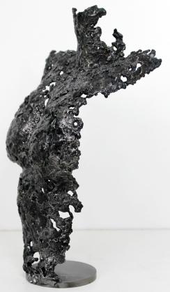 Buste femme en métal : dentelle d'acier Pavarti Odyssée Pièce unique