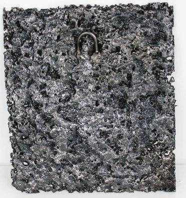 Tableau de Philippe Buil en Acier Pièce unique