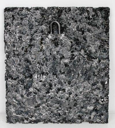 Tableau de Philippe Buil en Acier Don Quichotte Pièce unique