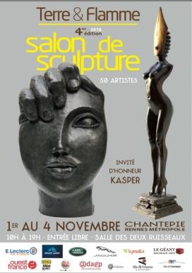 Exposition Sculptures Philippe Buil Salon sculptures Terre & Fla