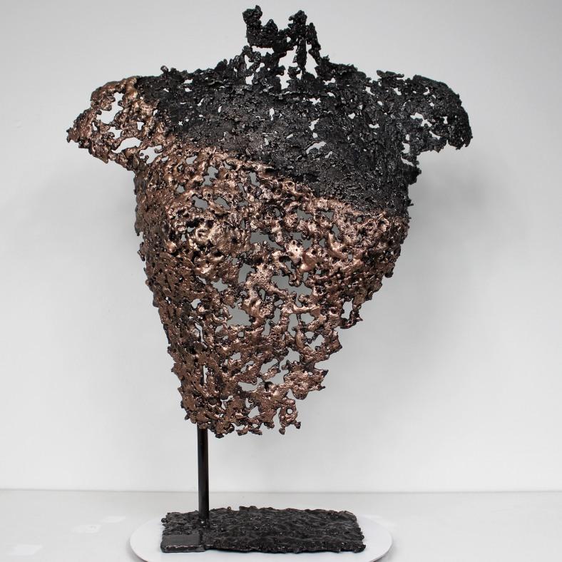 Belisama Objection - Sculpture Philippe Buil - Buste de femme Me