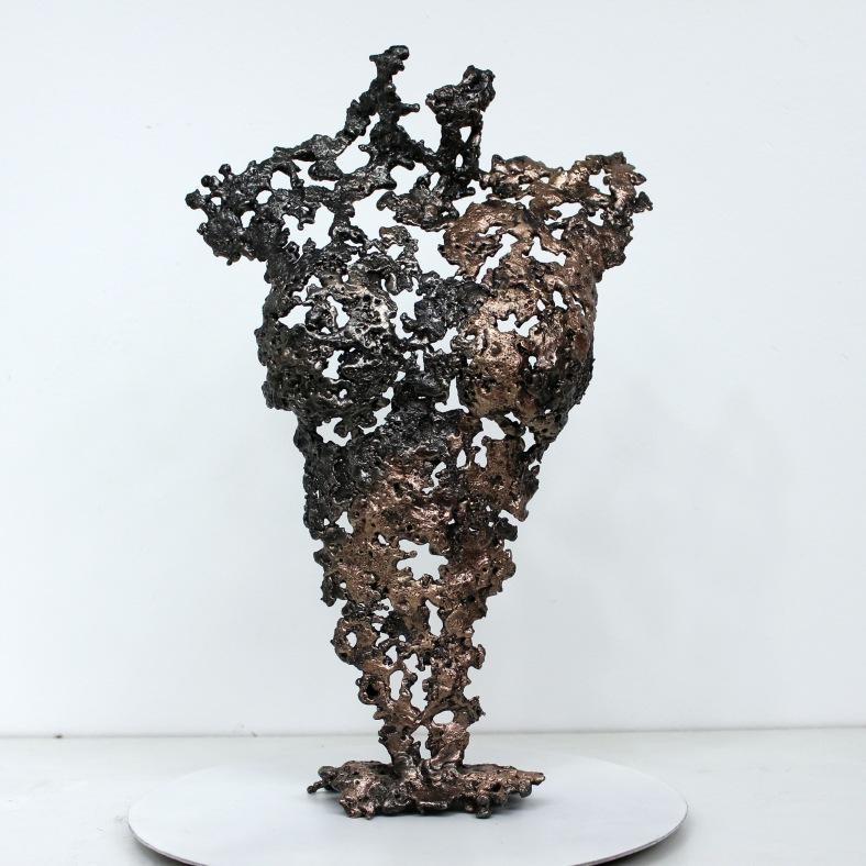 Pavarti Orion - Sculpture Philippe Buil - Corps de femme metal d