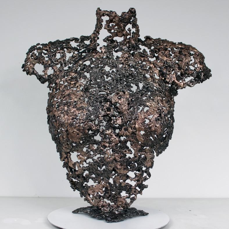 Belisama Une Nuit - Sculpture Philippe Buil - Buste de femme Met