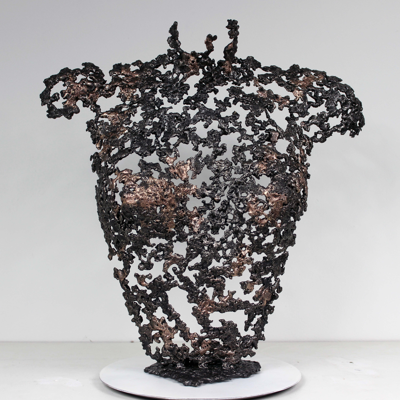 Belisama un jour - Sculpture Philippe Buil - Buste de femme Meta