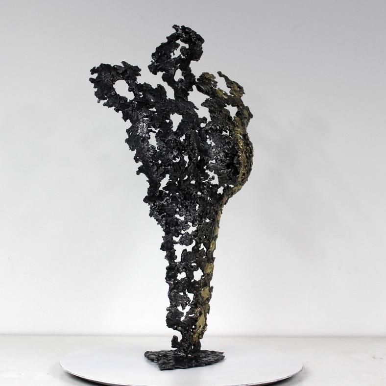Pavarti un siecle - Sculpture corps métal Philippe Buil